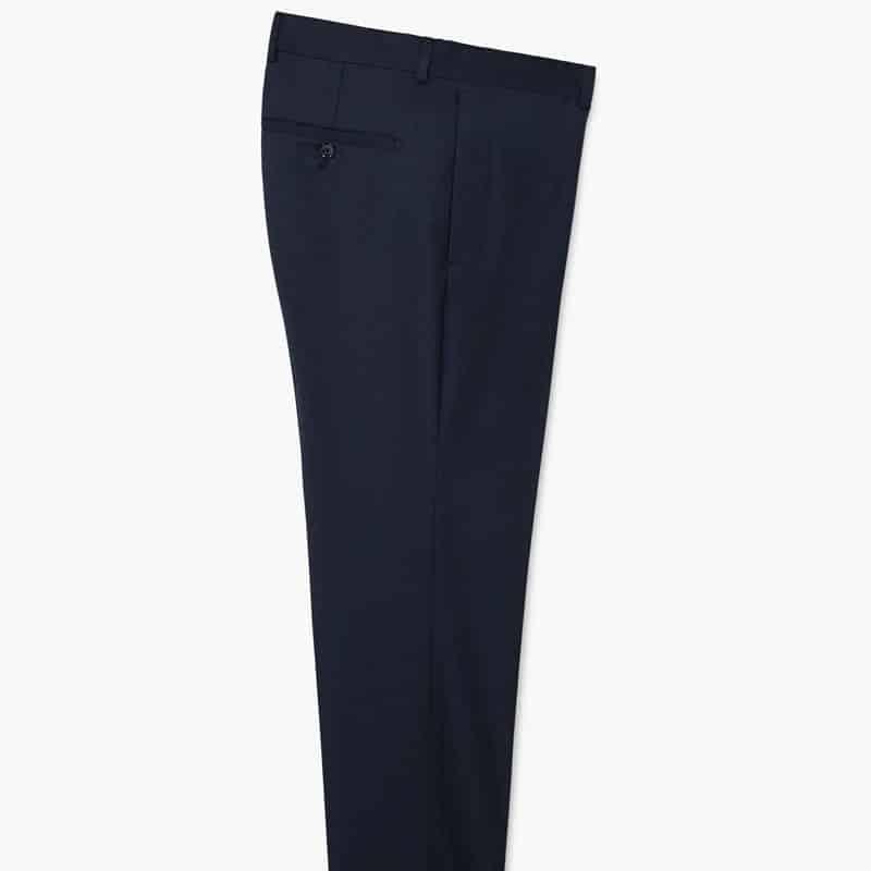 Pantalon de costume super-slim structuré
