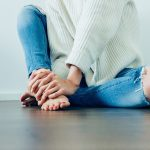 Le jean troué